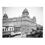 Station central magnífica, 1900 tarjeta postal