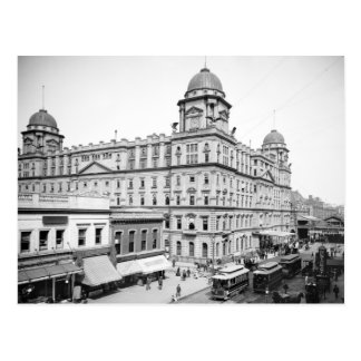 Station central magnífica, 1900 postal