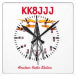 Station Clock for Ham Radio Operators at Zazzle