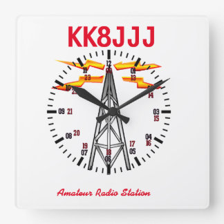 Station Clock for Ham Radio Operators