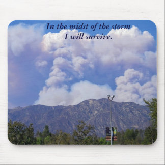 Station Fire 2009_Mousepad Mouse Pad