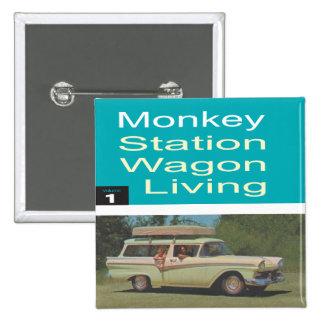Station Wagon Living Pins