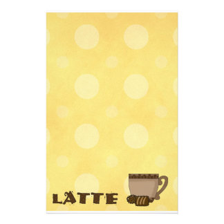 Stationary Coffee Latte Lovers Stationery