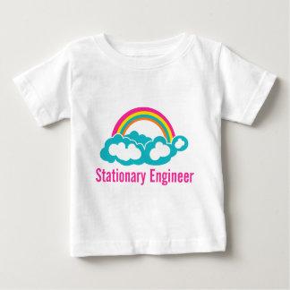 Stationary Engineer Cloud Rainbow Infant T-shirt