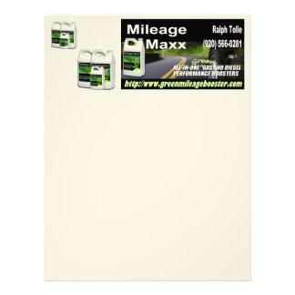 STATIONARY MILEAGE MAXX FOR RALPH TOLLE LETTERHEAD
