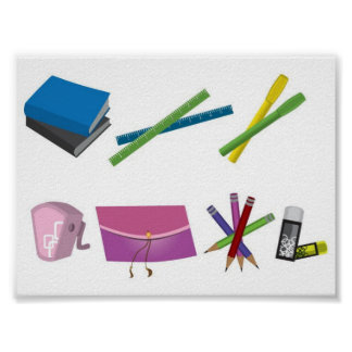 stationary-vector-10005-large poster
