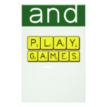 KEEP CALM and PLAY GAMES  Stationery
