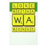keep calm and love Retha wa Bongz  Stationery