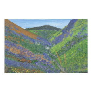 """Stationery 5.5"""" x 8.5"""" - Spring Time in the Mounta"""