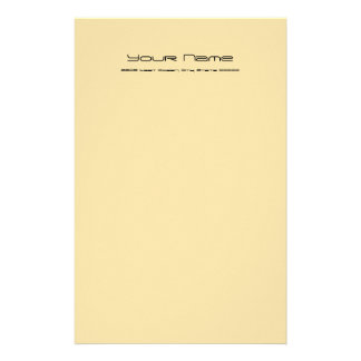 Stationery Basic Paper/ Gold Color