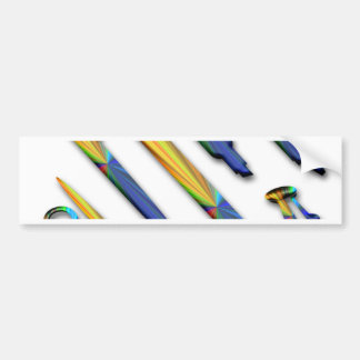 Stationery Bumper Sticker