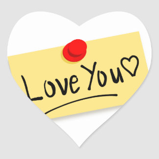 Stationery Images Fash Heart Sticker