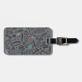 Stationery Lover Bag Tag