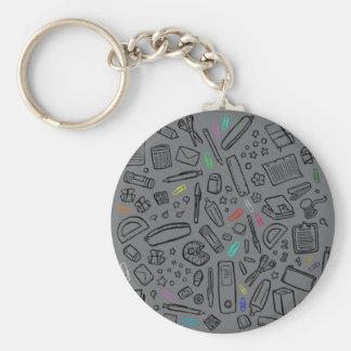 Stationery Lover Keychain