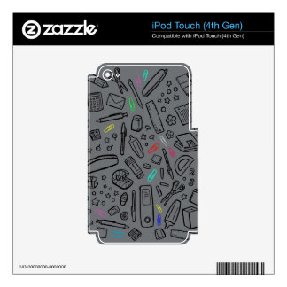 Stationery Lover Skin For iPod Touch 4G
