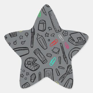 Stationery Lover Star Sticker