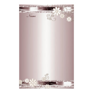 Stationery Pink Floral