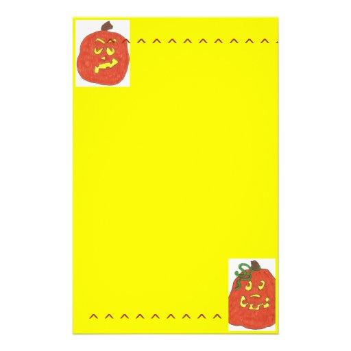 Stationery/Pumpkin