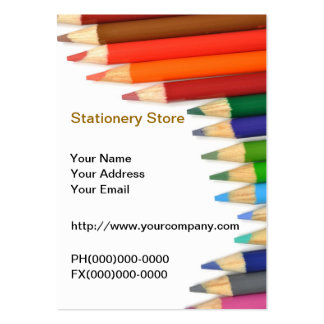 Stationery Store Business Card