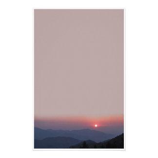 stationery sunset