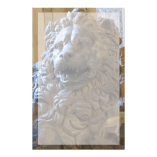 Stationery--Vatican Lion With Border Stationery