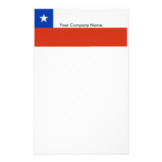 Stationery with Flag of Chile