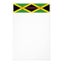 Stationery with Flag of Jamaica