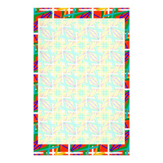 Stationery with Multiple Color Design