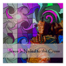 Stations of the Cross 10 Poster