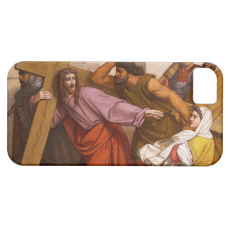 Stations of the Cross 5 Simon Carries the Cross iPhone SE/5/5s Case