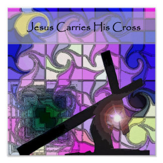 Stations of the Cross 7 Poster