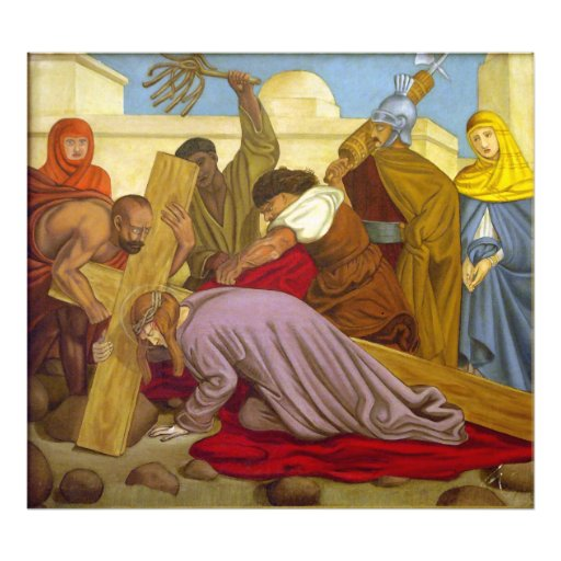 an examination of the art station ix jesus falls a third time Art uk is the online home for every public collection in the uk featuring over 200,000 oil paintings by some 38,000 artists  jesus falls the third time: station ix 1978 sybil andrews (1898–1992) jesus falls  new artworks, stories and chances to win prizes, delivered straight to your inbox every two weeks.
