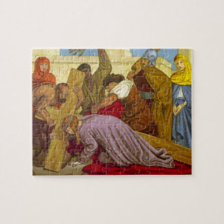 Stations of the Cross 9 Jesus Falls the Third Time Puzzle