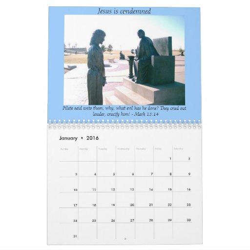 Stations of the Cross Calendar