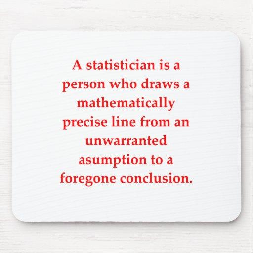 statisitics alfombrilla de raton