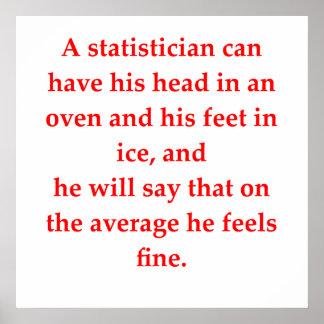 statisitics poster