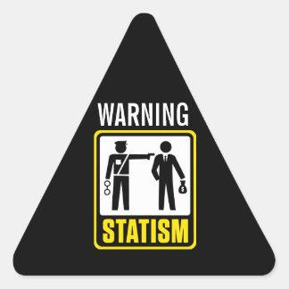 Statism Warning Sticker