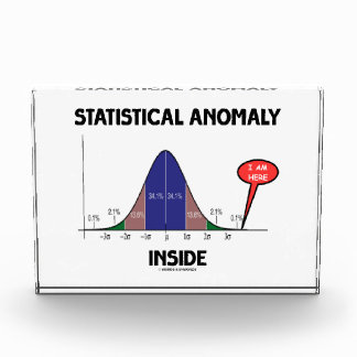 Statistical Anomaly Inside (Bell Curve I Am Here) Award