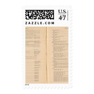 Statistical atlas 1900 7 stamp