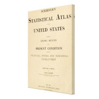 statistical atlas canvas print