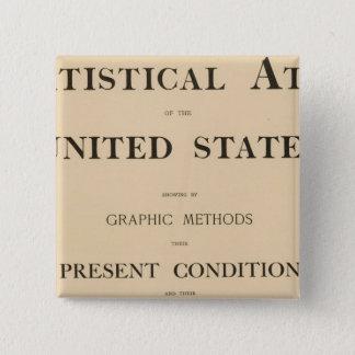 statistical atlas pinback button