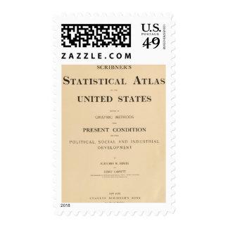 statistical atlas postage stamp