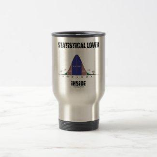 Statistical Lover Inside (Bell Curve) Mug