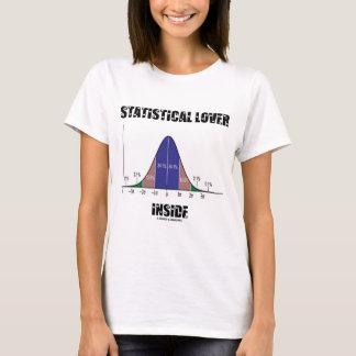 Statistical Lover Inside (Bell Curve) T-Shirt