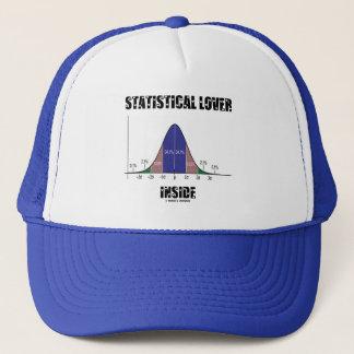 Statistical Lover Inside (Bell Curve) Trucker Hat