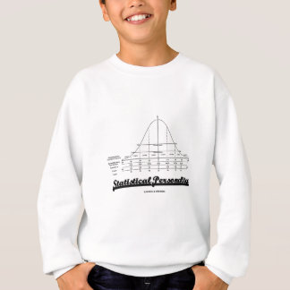 Statistical Personality (Bell Curve) Sweatshirt
