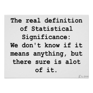 Statistical Significance Posters