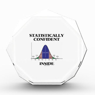 Statistically Confident Inside (Bell Curve Humor) Award