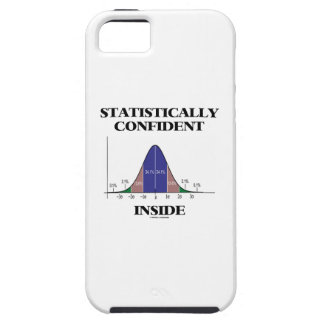 Statistically Confident Inside (Bell Curve Humor) iPhone SE/5/5s Case