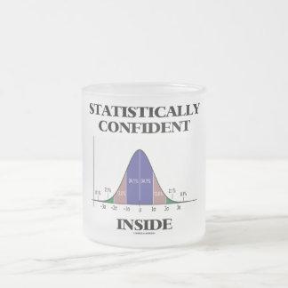 Statistically Confident Inside (Bell Curve Humor) Mug